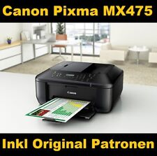 Canon Pixma MX475 Multifunktionsdrucker Scanner Kopierer Fax Wlan Airprint - Neu