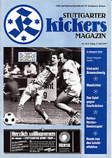II. BL 86/87  Stuttgarter Kickers - Eintracht Braunschweig, 09.05.1987