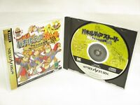 PANELTIA STORY Item ref/ccc Sega Saturn Import Japan Game ss