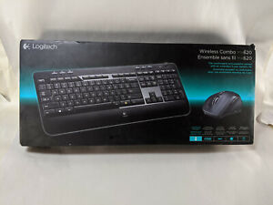 Logitech MK620 Wireless Keyboard And Mouse Combo NEW unopened sealed *Box wear*