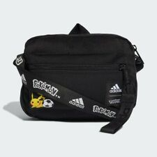 Pokemon x Adidas Pikachu Shoulder Bag Black Organizer new