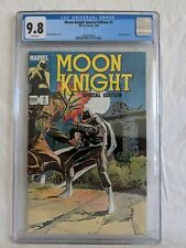 Moon Knight Special Edition #3 CGC 9.8, White Pages Marvel 1984