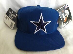 NWT VTG STARTER *  DALLAS COWBOYS Pro Line Lone Star Blue SnapBack Hat *
