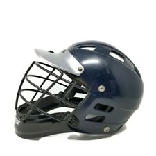 Cascade C2 Lacrosse Mll Official Helmet Blue Gray Hsc2 Adult Xs
