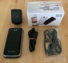 Alcatel one touch 2010x Klapphandy schwarz original Verpackung kein Simlock