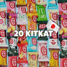 20 Kitkat Mini japonais - 20 saveurs différentes - kit kat Japan