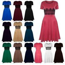 Damenkleider mit Flügelärmeln aus Polyester