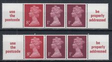 GB / UK 1979 ☀ QEII 8+1+1 ☀ 2x5v MNH with a pendant (BOOKLET PANES COIL STRIPS)