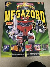 MIGHTY MORPHIN POWER RANGERS Deluxe Set Megazord with Box BanDai 3+