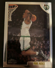 Paul Pierce 1998 1998-1999 Topps Chrome Rookie Card #135