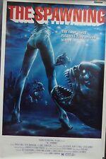 Piranha Part Two The Spawning Original Single Sided Movie Poster  James Cameron
