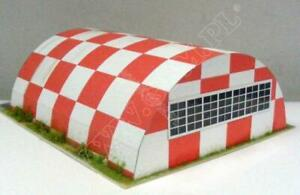 Sport Aviaton Hangar 1:72 scale Model Kit (LASERCUT SET) PREPAINTED *NEW*