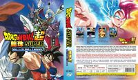 ANIME DVD~ENGLISH DUBBED~Dragon Ball Super(1-131End+3 Movies)FREE SHIPPING+GIFT