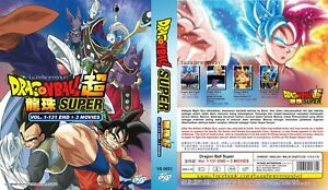 ANIME DVD~ENGLISH DUBBED~Dragon Ball Super(1-131End+3 Movies)FREE GIFT