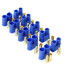 5Pairs Male Female EC3 Style Connector w/ 10Pairs 3.5mm Gold Bullet Plug