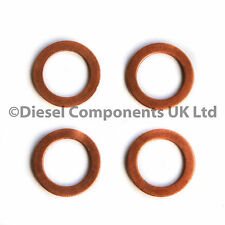 PEUGEOT 405 MK II ESTATE 1.9 TD DIESEL INJECTOR WASHERS / SEALS PACK OF 4