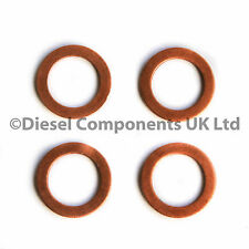 Peugeot 806 1.9 TD Diesel Injector Washers Seals Pack of 4