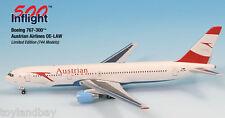 InFlight500 Austrian Airways OE-LAW Boeing 767-300ER 1:500 Scale Diecast New