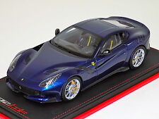 1/18 MR Collection Ferrari F12 TDF Blue Tour de France Leather base Lim 49 pcs