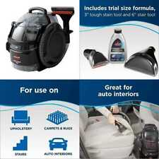 BISSELL SpotClean Professional Portable Carpet Cleaner  3/4 gallon TANK 5.7 AMP