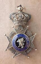 BELGIUM order of Leopold silver heavy unusual edition 60gr french flemish medal