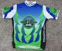 Men's Verge Chattanooga Bicycle Club Cycling Jersey Bib XXL or XL 3/4 Zip