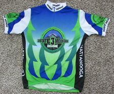 Men's Verge Chattanooga Bicycle Club Cycling Jersey Bib XXL or XL 3/4 Zip