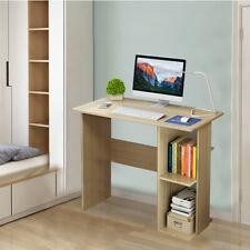 Pequeños pedazos de la computadora de escritorio estudio de estación de trabajo mesa para portátil Estantes de Mesa de oficina en el hogar