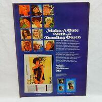 PLAYBOY CALENDAR 1968 VINTAGE ADVERTISING MAGAZINE PAGE