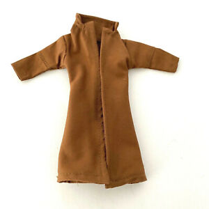 SU-TC-GB-TN: Brown Wired Trench Coat for Marvel Legends Gambit (No Figure)