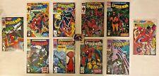 Lot of 10 Spider-Man Comics Todd McFarlane Covers VF/NM Marvel Comics
