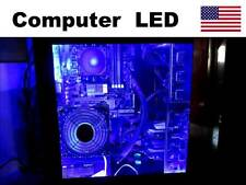 GAMING computer PC LED light - multi color RED GREEN BLUE case lighting KIT new