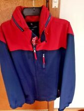 TOMMY HILFIGER Men's Jacket double front zipper with hidden hood - Size XL