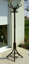 Porte manteau style Thonet en bois courbé -Signé sièges Baumann