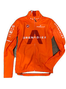 Ineos Greandiers Castelli Long Sleeve Thermal Cycling Jersey Small