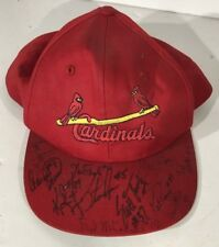 Very Rare St. Louis Cardinals Signed Baseball Hat Pat Perry, Scott Terry, etc.
