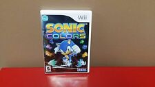 ** Sonic Colors (Nintendo Wii, 2010) - COMPLETE, Free Shipping