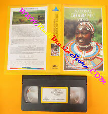 VHS film DIARIO DAL SERENGETI 1990 NATIONAL GEOGRAPHIC VIDEO NGH 1059 (F3)no dvd
