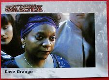 BATTLESTAR GALACTICA - Premiere Edition - Card #37 - Case Orange