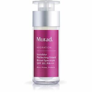 3X Murad Invisiblur Perfecting Shield SPF 30 1 fl oz, EXP: 01/21 - New In Box