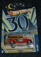 2011 HOT WHEELS CARS OF THE DECADE '37 FORD 2/32