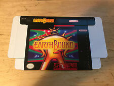 Super Nintendo SNES Earthbound custom regular size box only!