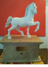 """ Leonardo Da Vinci's Dream"" clay horse ,original"