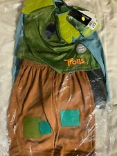 Trolls Branch costume - Age 3-4 years Brand New with tags