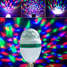 Crystal Ball E27 LED Rotating Stage Light & Effects Lighting DJ Disco Club Party