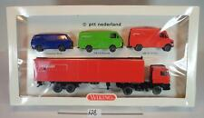 Wiking 1/87 Set PTT Nederland mit 4 Modellen OVP #628