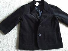 Gymboree Sz 18-24 Mo Toddler Boy Coat Jacket Fall Winter Black