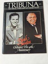 Tribuna The Official Publication of Caesars Palace Frank Sinatra 40th Dec.1979