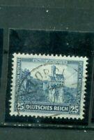 Deutsches Reich, Nothilfe Burgenl  Nr. 477 gestempelt