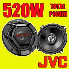 JVC 520W total 5 pulgadas 13cm 2-Way Coche/Altavoces Coaxiales De Estante De Puerta De Van par NUEVO